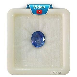 Fedput 6.69 Carat 7.25 Ratti BLUE SAPPHIRE ( NEELAM / NILAM STONE ) 100  ORIGINAL CERTIFIED NATURAL GEMSTONE AAA QUALIT