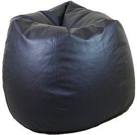 Manjari Xxxl Bean Bag Cover Black  Without Beans