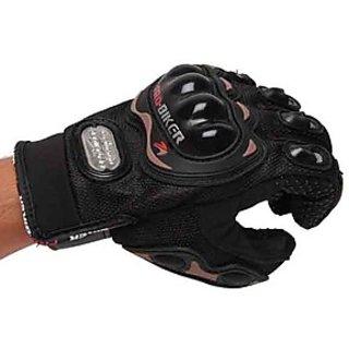 ProBiker Riding Gloves -Black-Size XL