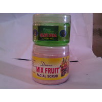 Diana Mix Fruit Facial Scrub & Aloe Vera Facial Gel (Combo Offer Pack Of 2)