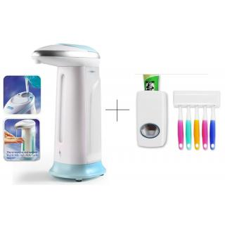 Buy 2 Pcs Soap Dispenser With Free Toothpaste Dispenser - SPIS2THSK1