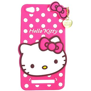 2ce186e82 Buy Style Imagine Hello Kitty 3D Designer Back Cover For Redmi 4A - Pink  Online - Get 20% Off