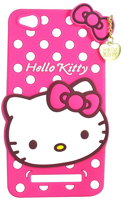 half off 7089e 995b1 Style Imagine Hello Kitty 3D Designer Back Cover For Redmi 4A - Pink