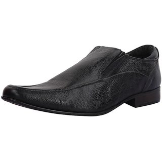 RED CHIEF Leather Black Formal Shoes for Men