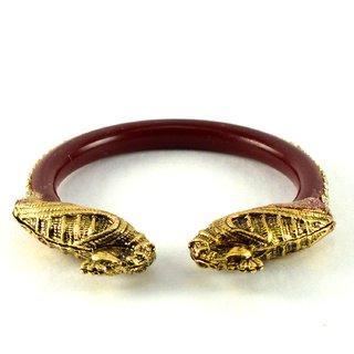 Stylish bangles kara colour red