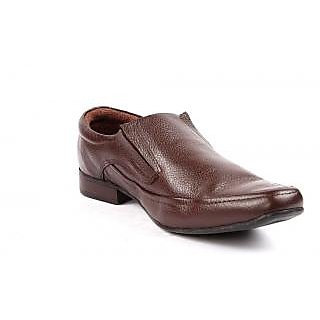 RED CHIEF Leather Rust Formal Shoes for Men