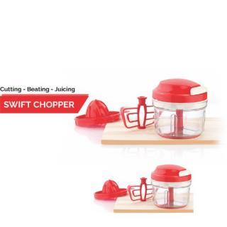 Apex Swift Chopper 3 in One ( Cutting - Beating - Juicing) /Handy Mini Chopper