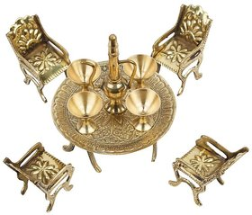 Unique Design Maharaja Dining Table Chair King Set  By Fashion Bizz