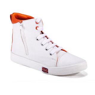 Steemo Women's White Sneakers