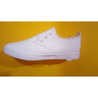 Canvas rock white