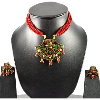 Amazzing necklace with earing