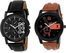 DCH NW-05 Pack Of 2 Stylish Designed Analogue Wrist Wat
