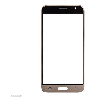 Gear Replacement Outer Front Touch Screen Glass Lens for Samsung Galaxy J3 Gold