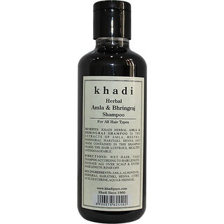 Khadi Herbal Amla  Bhringraj Shampoo - 210ml