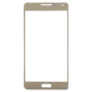 Gear New Outer Front Touch Screen Glass Lens for Samsung Galaxy A5 (Gold)