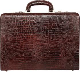 SCHARF Premium Leather Business Attache Case