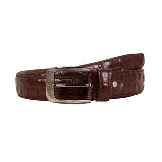 SCHARF Brown Pure Leather Belt for Men