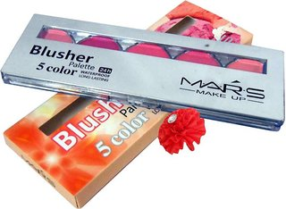 Mars Blusher palette (5 colours)