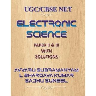 Ugc Cbse Net Electronic Science