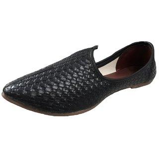 Port Men's Leather Punjabi Jutti