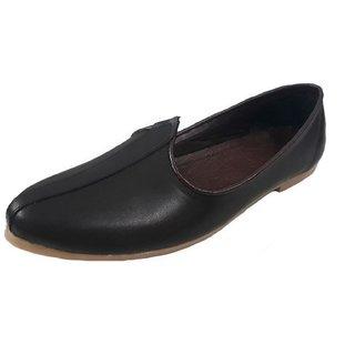 Port Men's Black Leather Jalsa
