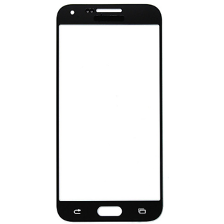 Gear Replacement Outer Front Touch Screen Glass Lens for Samsung Galaxy E5 E500F (Black)
