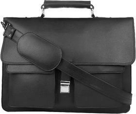 P  Y Fashion Fashion Black Messenger Bag