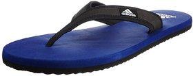 Adidas Men's Adi Rio Dark Blue, Black and White Flip-Flops