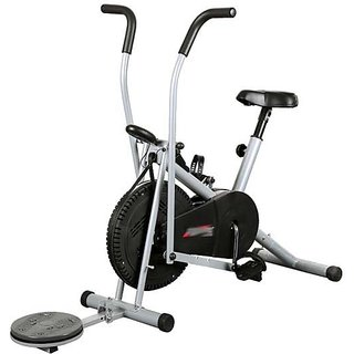 Body Gym Air Bike Exercise Cycle BGA-2001 With Twister