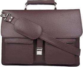 P  Y Fashion Fashion Brown Messenger Bag.