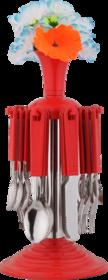 Magikware Regular Revolving Flower Cutlery Set 24pcs