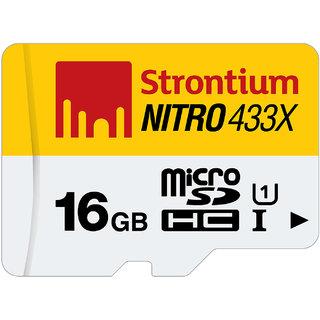 Strontium Nitro16GB-433X Uhs1 65Mb/S 1 In 1 Single Packing