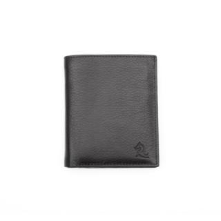 York Mens Wallet 9027 Black Book Shaped