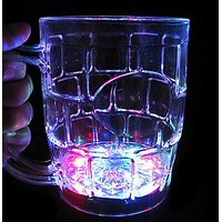 Led Beer Mug Glass - Set Of 2pcs - Perfect Gift For This New Year