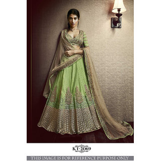 77f584cb9d3be Buy Rozdeal Designer Perot Coored Net Lehenga Choli Online   ₹2781 ...