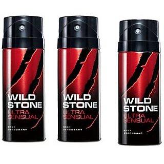 wild stone deodorant pack of 3