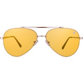 57530c6f323 Buy Tom Martin Gold Uv Protection Aviator Women Sunglasses Online - Get 67%  Off