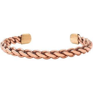 Memoir Copper Adjustable free size Bangle kada Men women