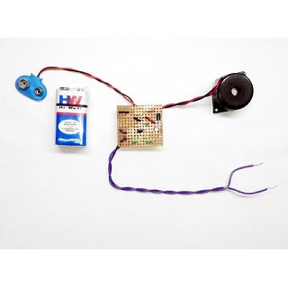 Goodwill Theft Alarm Circuit Project in . DOT PCB