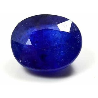 Blue Sapphire (Neelam) Precious Loose Gemstone Natural Certified Pukhraj 3.30 Carat