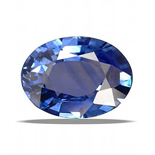Blue Sapphire (Neelam) Precious Loose Gemstone Very Nice Oval Cut Original Certified Stone 6.20 Carat