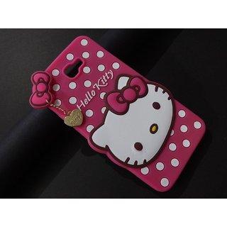 quality design 294d3 4ecac Samsung Galaxy J7 Prime Premium Cute Hello Kitty Rubberised Back Case Cover  Pink