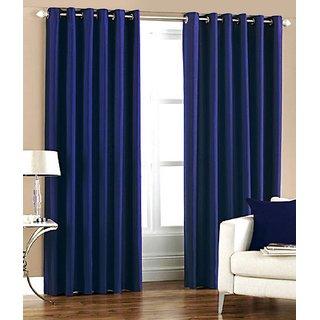 S.S. Crush Plain Single Door Curtain