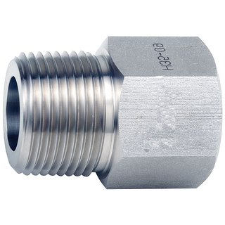 Reducing Adapter, Stainless Steel 304,  Om Tubes Tube Fitting  1/8