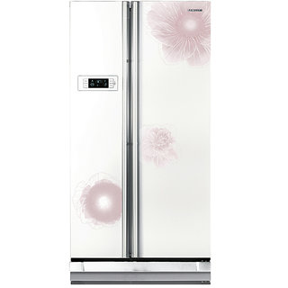Samsung 600 Litres RS21HSTWA1/XTL Side by Side Frost Free Refrigerator