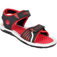 World Wear Mens Red Velcro Floaters