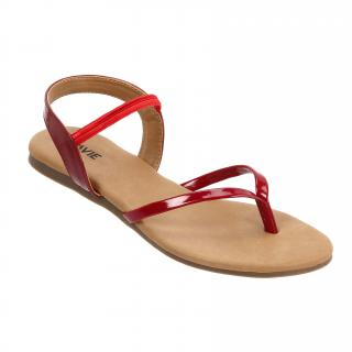 Lavie Women's Red Sandals