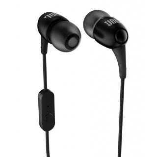 JBL T100 A Black In the Ear Headphone with 1 year manufacturing warranty