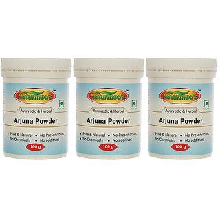 NATURMEDS ARJUNA (TERMINALIA ARJUNA) POWDER - 100 GRMS JAR(PACK OF 3)