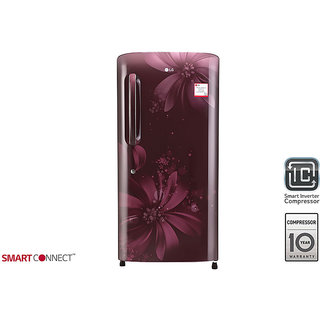 LG DIRECT COOL 215 LTRS GL B221ASAW SCARLET ASTER